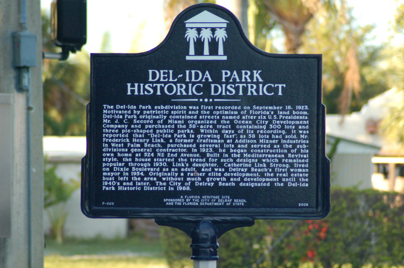 del-ida-park-historic-district-sign
