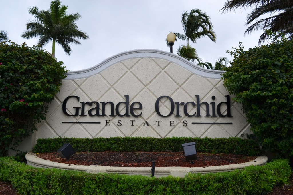 grande orchid sign